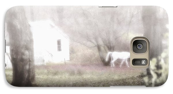 Galaxy Case featuring the photograph Dream Horse by Marianne Campolongo