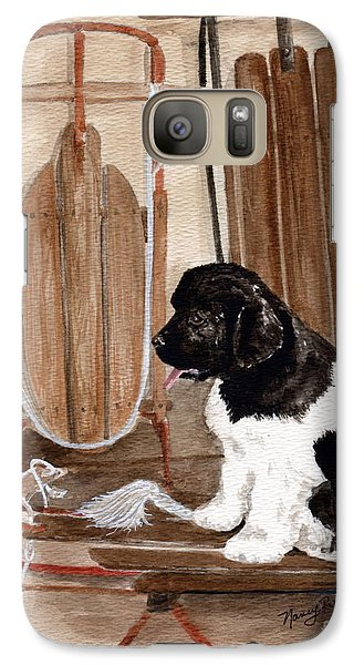 Galaxy Case featuring the painting Dreaming Of Winter  by Nancy Patterson