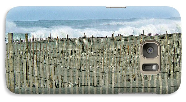 Galaxy Case featuring the photograph Drift Fence by Pamela Patch