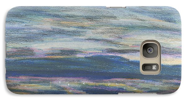 Galaxy Case featuring the pastel Driving By Utica by Denny Morreale