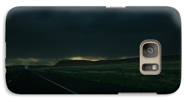 Galaxy Case featuring the photograph Driving Rain Number One by Lon Casler Bixby