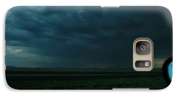 Galaxy Case featuring the photograph Driving Rain Number Two by Lon Casler Bixby