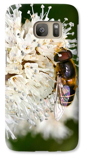 Galaxy Case featuring the photograph Drone Fly by Mitch Shindelbower