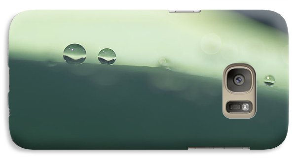 Galaxy Case featuring the photograph Drops by Priya Ghose