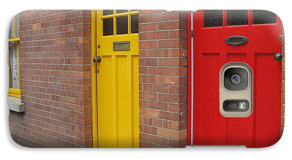 Galaxy Case featuring the photograph Dublin Doors by Arlene Carmel