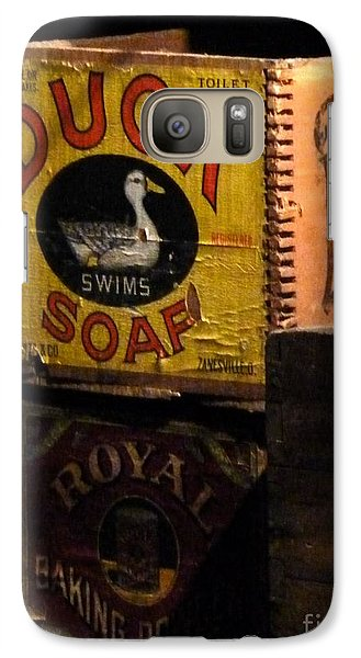 Galaxy Case featuring the photograph Duck Soap by Newel Hunter