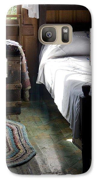 Galaxy Case featuring the photograph Dudley Farmhouse Interior No. 1 by Lynn Palmer
