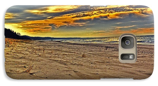 Galaxy Case featuring the photograph Dunes Sunset II by William Fields