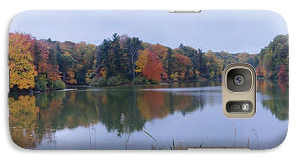 Galaxy Case featuring the photograph Durand Lake by William Norton
