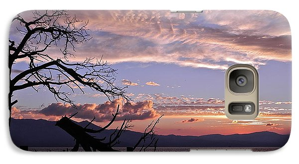 Galaxy Case featuring the photograph Dusk Over Lake Tahoe by Kirsten Giving