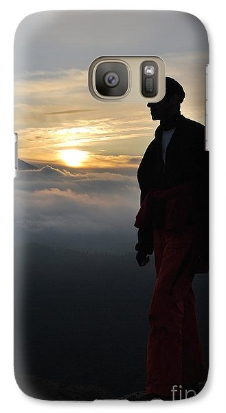 Galaxy Case featuring the photograph Dust In The Wind by Erhan OZBIYIK