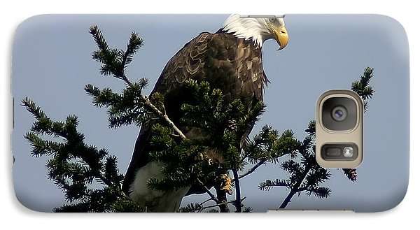 Galaxy Case featuring the photograph Eagle Eye Vista by Mitch Shindelbower