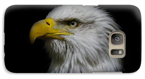 Galaxy Case featuring the photograph Eagle Head by Steve McKinzie
