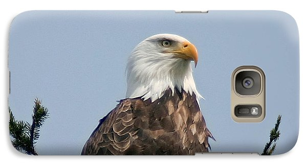 Galaxy Case featuring the photograph Eagle  by Mitch Shindelbower