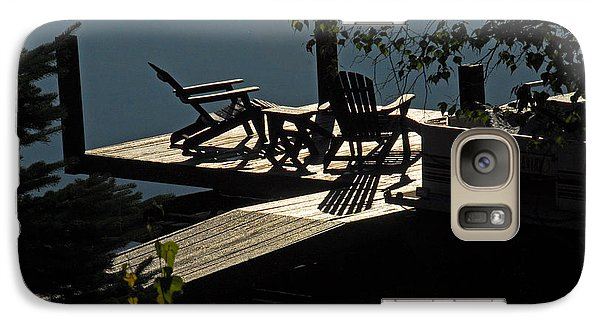 Galaxy Case featuring the photograph Early Morning At The Lake by Cindy Manero