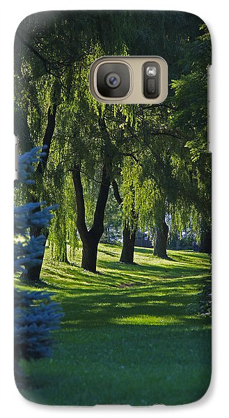 Galaxy Case featuring the photograph Early Morning by John Stuart Webbstock