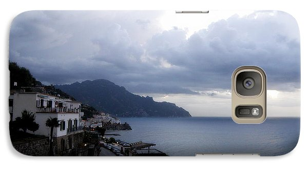 Galaxy Case featuring the photograph Early Morning View Of Amalfi From Santa Caterina Hotel  by Tanya  Searcy