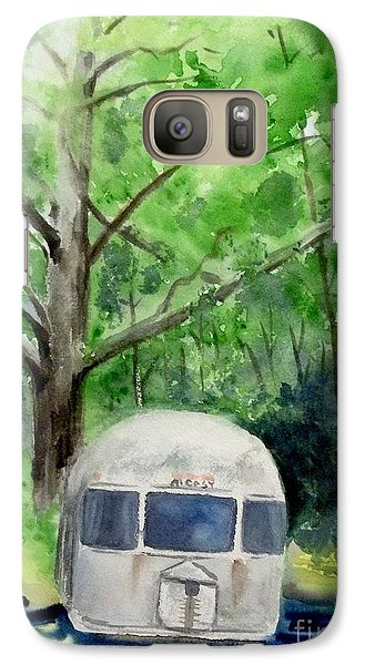 Galaxy Case featuring the painting Early Summer At The Geddes Farm 1 --ann Arbor  Michigan by Yoshiko Mishina