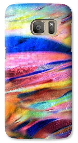 Galaxy Case featuring the photograph Earth And Sky by Carolyn Repka