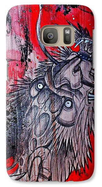 Galaxy Case featuring the painting Earth Spirit by Sandro Ramani