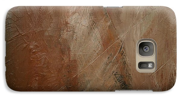 Galaxy Case featuring the painting Earthen by Dolores  Deal