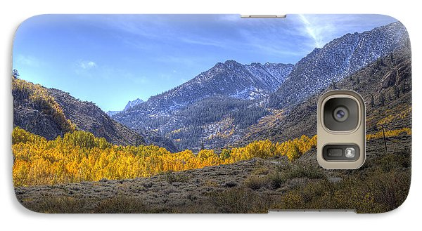 Galaxy Case featuring the photograph Eastern Sierras In Fall by Michele Cornelius