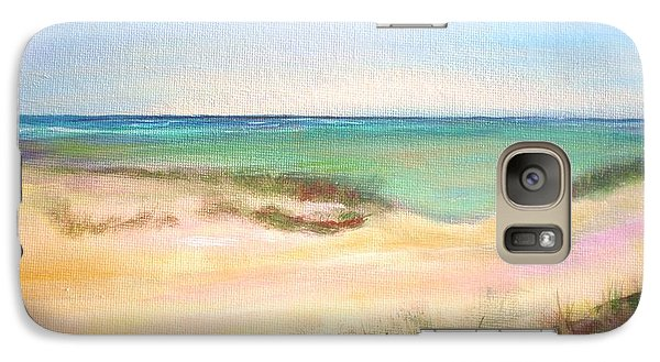 Galaxy Case featuring the painting Easy Breezy by Patricia Piffath