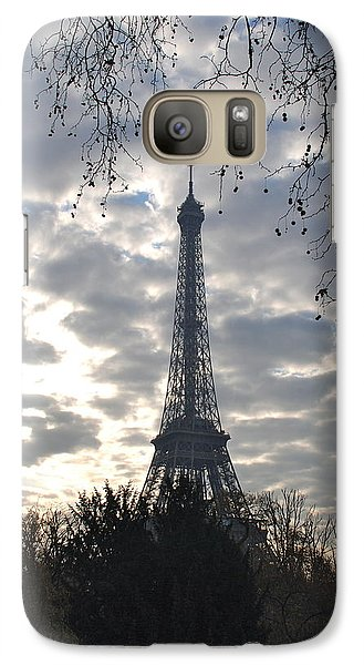 Galaxy Case featuring the photograph Eiffel In The Morning by Eric Tressler