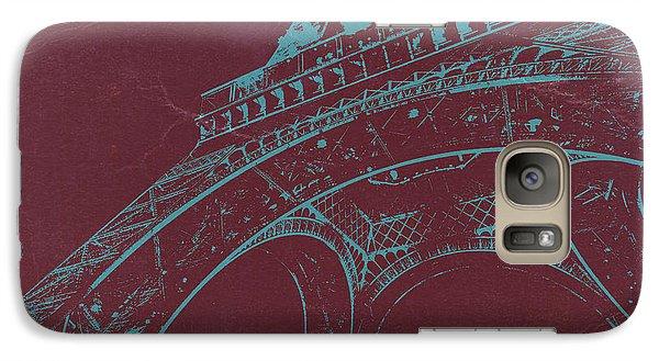 Eiffel Tower Galaxy S7 Case - Eiffel Tower by Naxart Studio