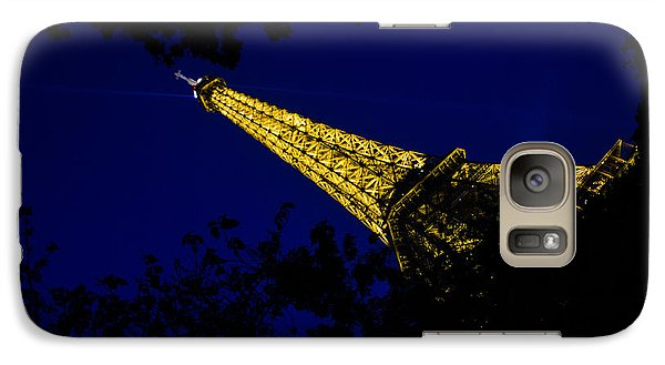 Galaxy Case featuring the photograph Eiffel's Magnificence by Marta Cavazos-Hernandez