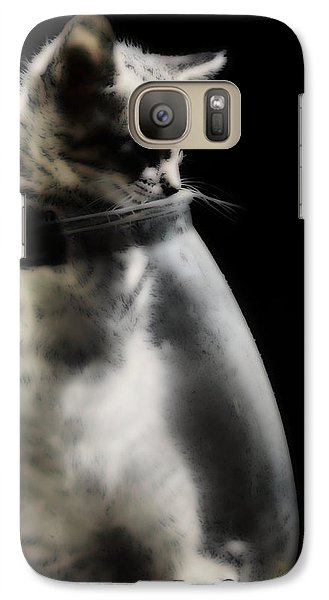 Galaxy Case featuring the photograph El Kitty by Jessica Shelton