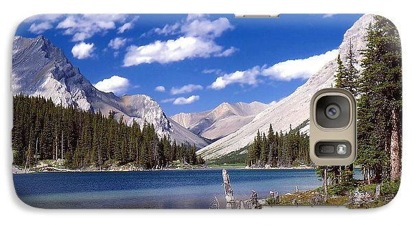 Galaxy Case featuring the photograph Elbow Lake by Jim Sauchyn