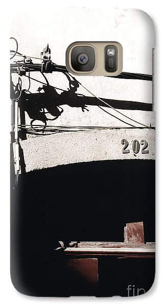 Galaxy Case featuring the photograph Electric Cables by Agnieszka Kubica