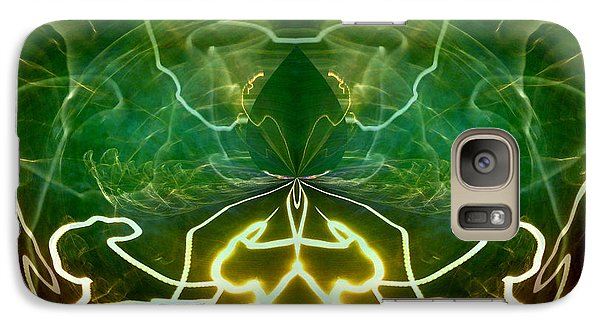 Galaxy Case featuring the digital art Electric Storm by Ginny Schmidt