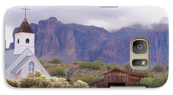 Galaxy Case featuring the photograph Elvis Memorial Chapel by Tam Ryan