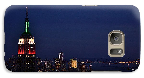 Galaxy Case featuring the photograph Empire State Building3 by Zawhaus Photography