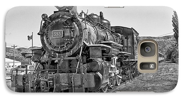 Galaxy Case featuring the photograph Engine 593 by Eunice Gibb