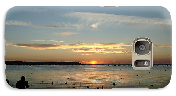 Galaxy Case featuring the photograph Enjoy by Katy Mei