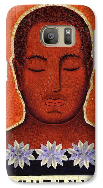 Galaxy Case featuring the mixed media Enlightenment by Gloria Rothrock