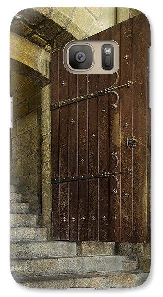 Galaxy Case featuring the photograph Entrance by Marta Cavazos-Hernandez