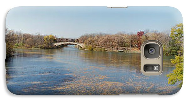 Galaxy Case featuring the photograph Erie Canal Panorama by William Norton