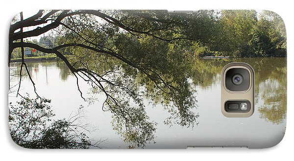 Galaxy Case featuring the photograph Erie Canal Turning Basin by William Norton