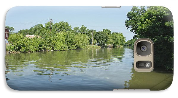 Galaxy Case featuring the photograph Erie Canal by William Norton