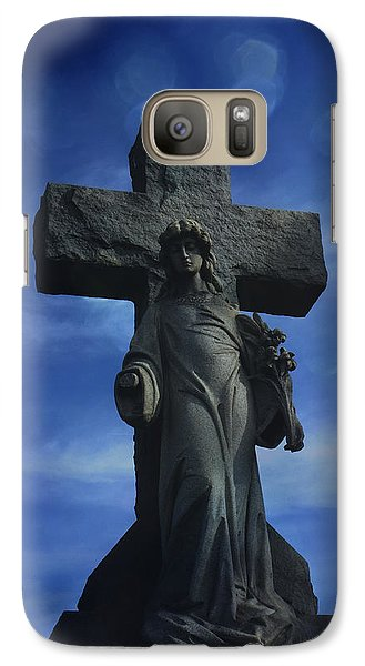 Galaxy Case featuring the photograph Eternal Hope by Robin Dickinson