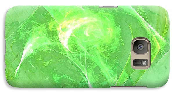Galaxy Case featuring the digital art Ethereal by Kim Sy Ok