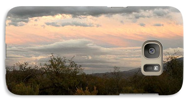Galaxy Case featuring the photograph Evening In Tucson by Kume Bryant