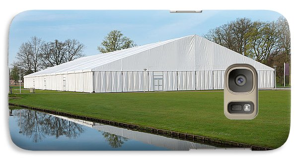 Galaxy Case featuring the photograph Event Tent by Hans Engbers