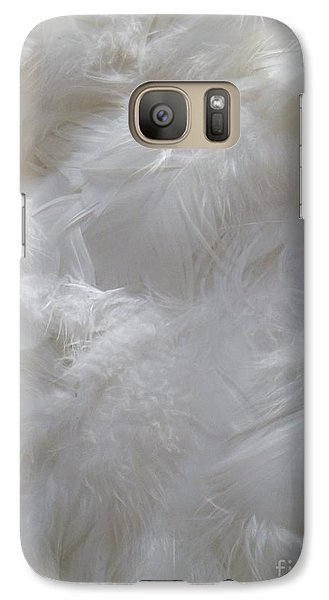 Galaxy Case featuring the painting Evidence Of Angels by Newel Hunter
