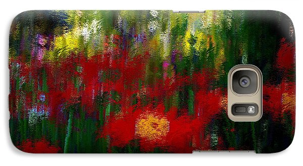 Galaxy Case featuring the mixed media Evoke by Terence Morrissey