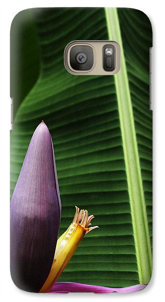 Galaxy Case featuring the photograph Exploring Light In Nature by Barbara Middleton